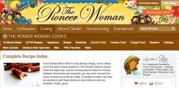 the-pioneer-woman-recipes